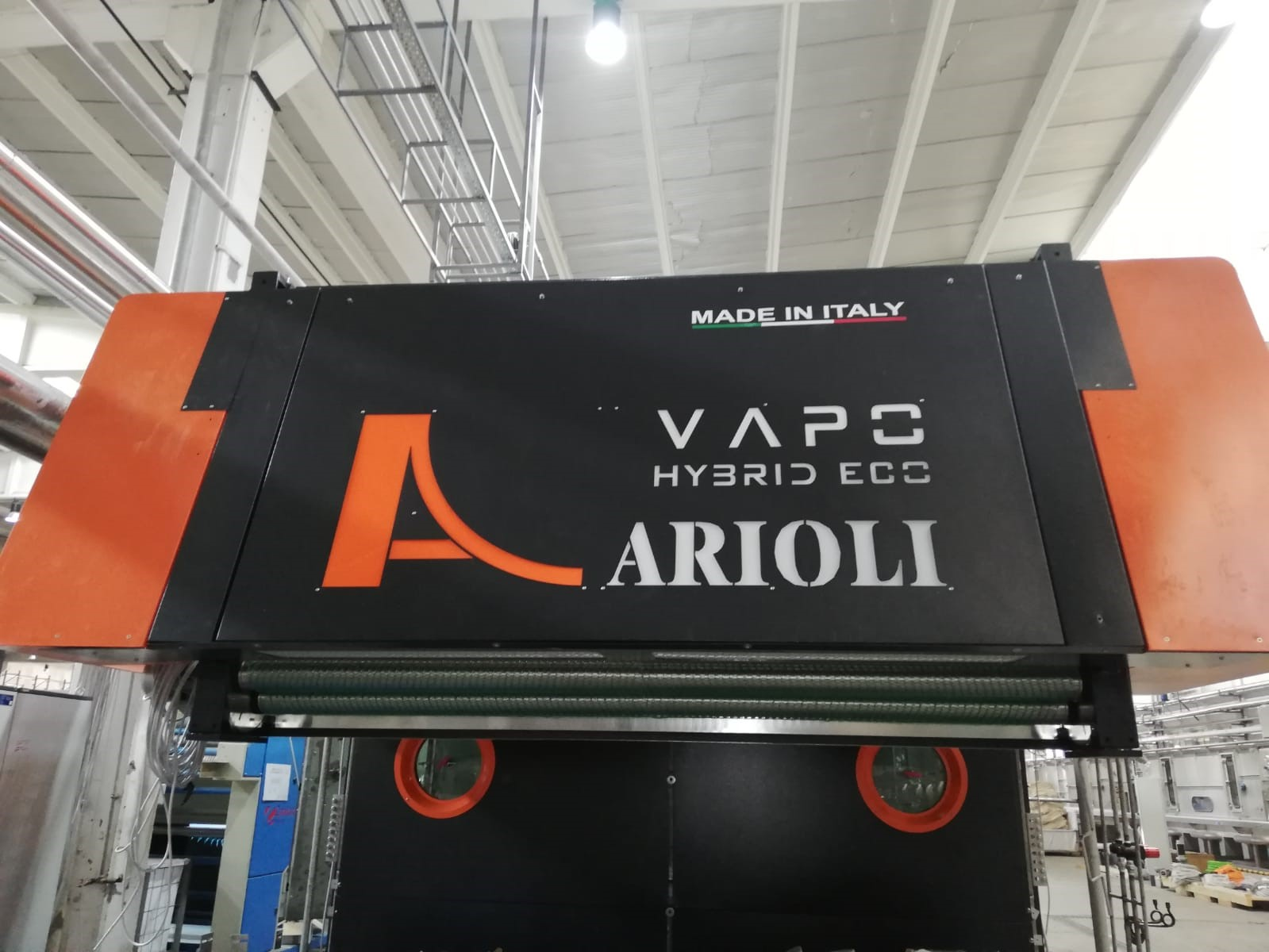 VAPO HYBRID ECO: the Arioli Textile Steamer