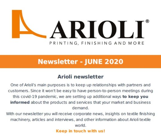 Arioli newsletter